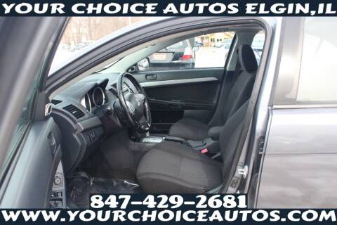 2010 Mitsubishi Lancer for sale at Your Choice Autos - Elgin in Elgin IL