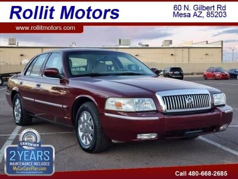 2007 Mercury Grand Marquis for sale at Rollit Motors in Mesa AZ