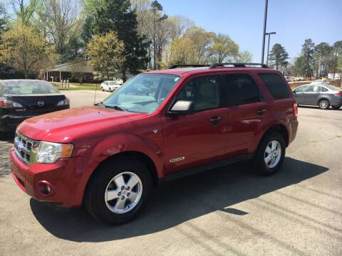 2008 Ford Escape for sale at O'Quinns Auto Sales, Inc in Fuquay Varina NC