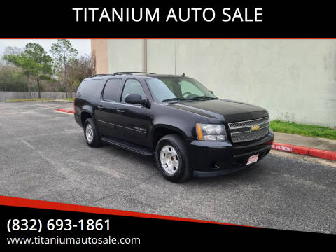 2011 Chevrolet Suburban for sale at TITANIUM AUTO SALE in Houston TX