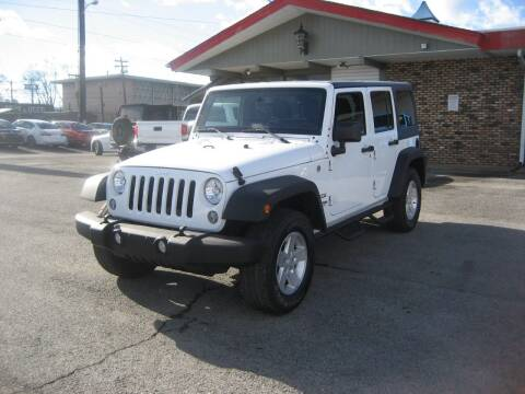 2018 Jeep Wrangler JK Unlimited for sale at Import Auto Connection in Nashville TN
