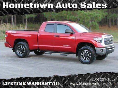 2019 Toyota Tundra for sale at Hometown Auto Sales - Trucks in Jasper AL