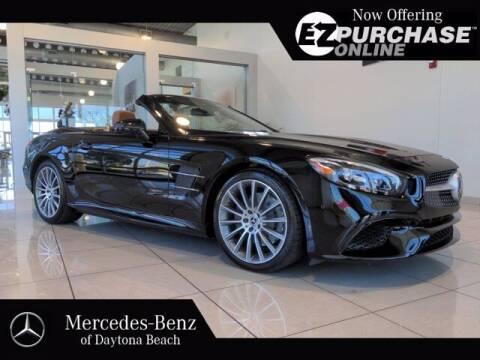 2018 Mercedes-Benz SL-Class for sale at Mercedes-Benz of Daytona Beach in Daytona Beach FL