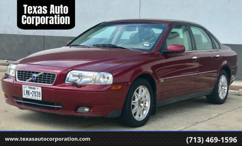2005 Volvo S80 for sale at Texas Auto Corporation in Houston TX