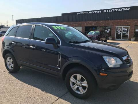 2008 Saturn Vue for sale at Motor City Auto Auction in Fraser MI