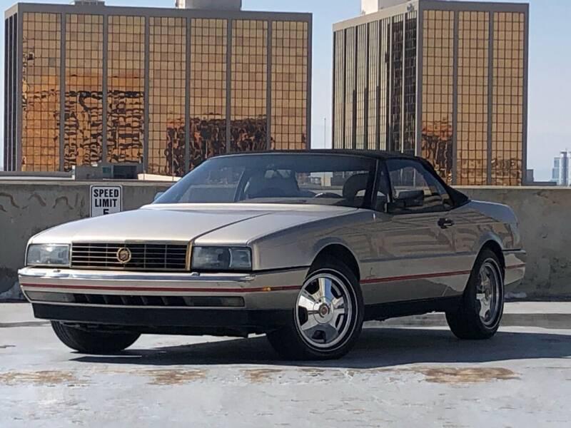 1991 Cadillac Allante for sale at Pammi Motors in Glendale CO