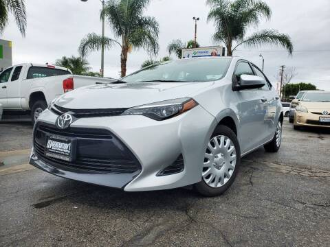 2018 Toyota Corolla for sale at GENERATION 1 MOTORSPORTS #1 in Los Angeles CA