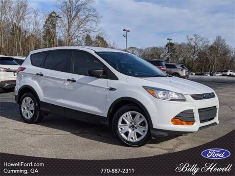 2016 Ford Escape for sale at BILLY HOWELL FORD LINCOLN in Cumming GA