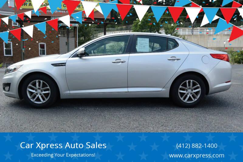 2012 Kia Optima for sale at Car Xpress Auto Sales in Pittsburgh PA