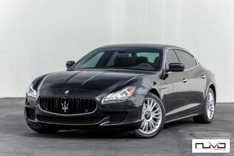 2014 Maserati Quattroporte for sale at Nuvo Trade in Newport Beach CA