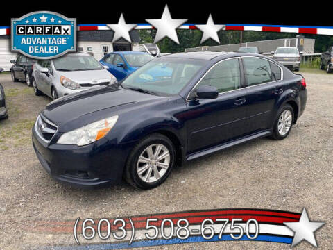 2012 Subaru Legacy for sale at J & E AUTOMALL in Pelham NH