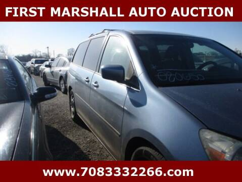 2005 Honda Odyssey for sale at First Marshall Auto Auction in Harvey IL