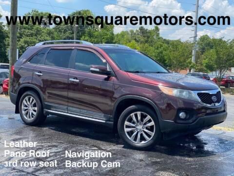 2011 Kia Sorento for sale at Town Square Motors in Lawrenceville GA