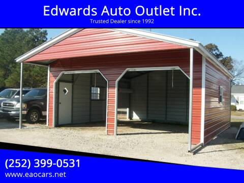 2021 Steel Buildings and Structures Enclosed Barn 22W x31L x 9H for sale at Edwards Auto Outlet Inc. in Wilson NC