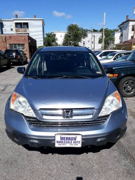 2008 Honda CR-V for sale at MERROW WHOLESALE AUTO in Manchester NH