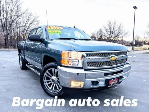2012 Chevrolet Silverado 1500 for sale at Bargain Auto Sales LLC in Garden City ID