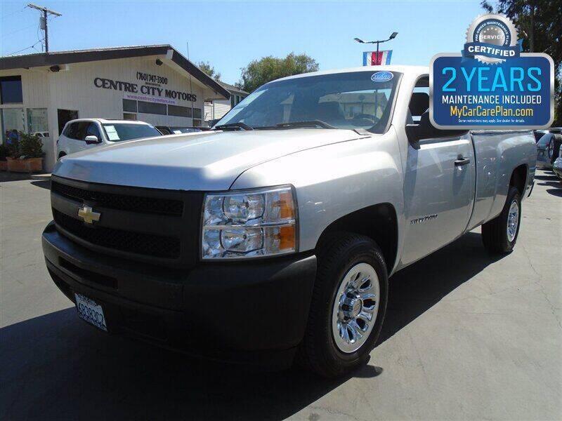 2010 Chevrolet Silverado 1500 for sale at Centre City Motors in Escondido CA