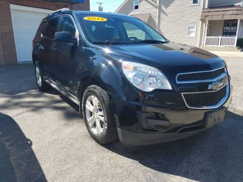 2015 Chevrolet Equinox for sale at BELLEFONTAINE MOTOR SALES in Bellefontaine OH