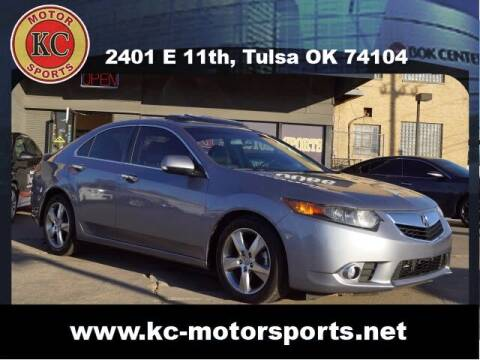 2012 Acura TSX for sale at KC MOTORSPORTS in Tulsa OK