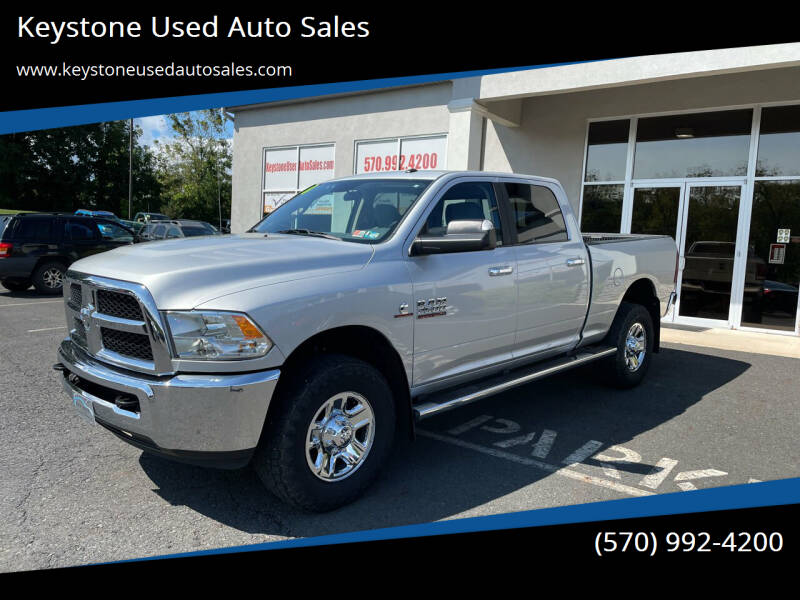 2018 RAM Ram Pickup 2500 for sale at Keystone Used Auto Sales in Brodheadsville PA