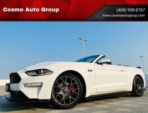 2018 Ford Mustang for sale at Cosmo Auto Group in San Jose CA