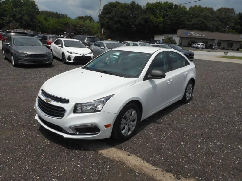 2015 Chevrolet Cruze for sale at Auto Center Elite Vehicles LLC in Spartanburg SC