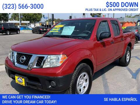 2012 Nissan Frontier for sale at Best Car Sales in South Gate CA