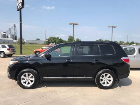 2012 Toyota Highlander for sale at Lanny's Auto in Winterset IA