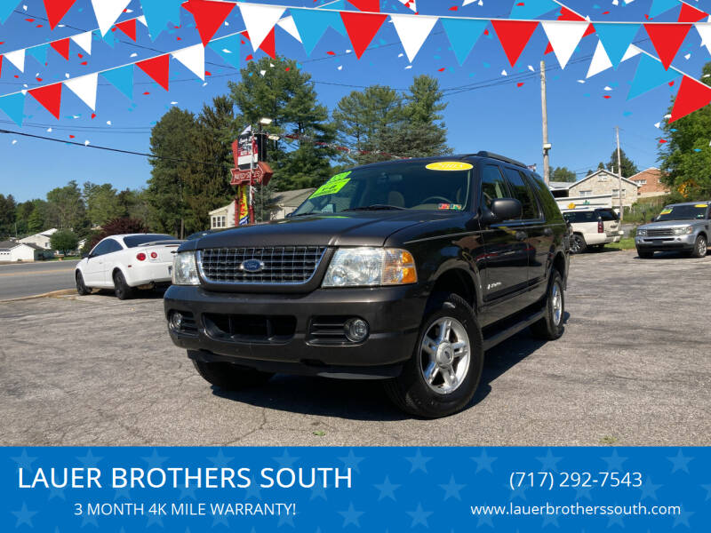 2005 Ford Explorer for sale at LAUER BROTHERS SOUTH in York PA