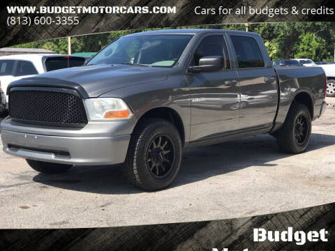 2010 Dodge Ram Pickup 1500 for sale at Budget Motorcars in Tampa FL