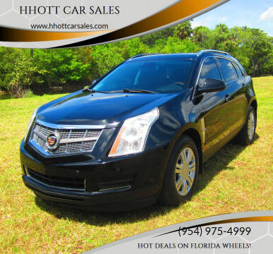 2012 Cadillac SRX for sale at HHOTT CAR SALES in Deerfield Beach FL