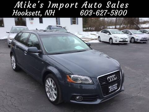 2013 Audi A3 for sale at Mikes Import Auto Sales INC in Hooksett NH