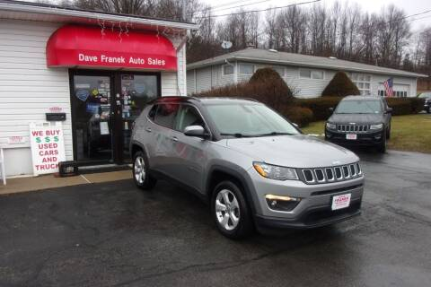 2018 Jeep Compass for sale at Dave Franek Automotive in Wantage NJ