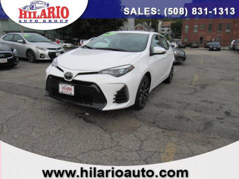 2017 Toyota Corolla for sale at Hilario's Auto Sales in Worcester MA