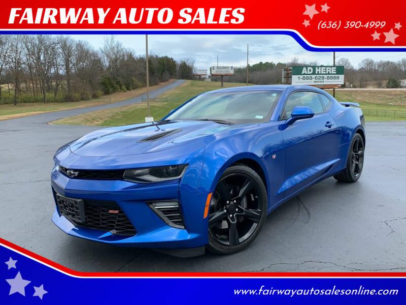 2017 Chevrolet Camaro for sale at FAIRWAY AUTO SALES in Washington MO