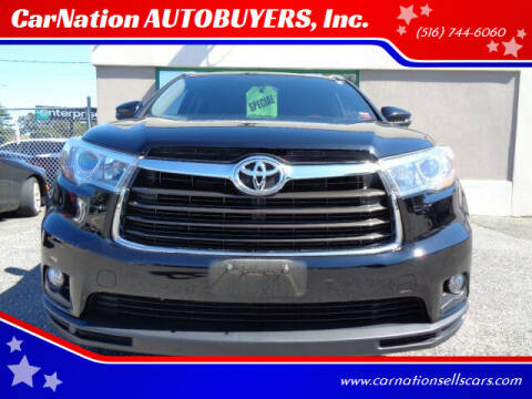 2016 Toyota Highlander for sale at CarNation AUTOBUYERS, Inc. in Rockville Centre NY