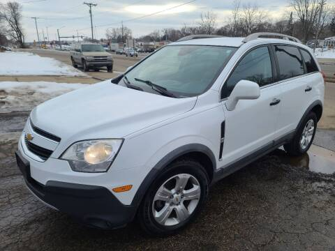 2013 Chevrolet Captiva Sport for sale at Steve's Auto Sales in Madison WI