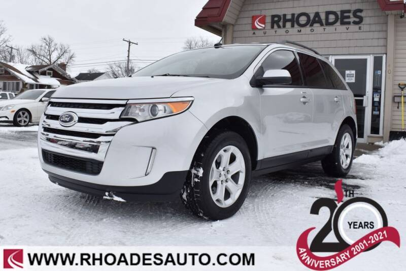 2014 Ford Edge for sale at Rhoades Automotive in Columbia City IN