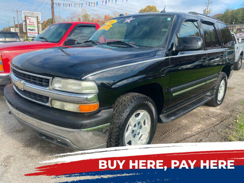 2005 Chevrolet Tahoe for sale at WINNERS CIRCLE AUTO EXCHANGE in Ashland KY