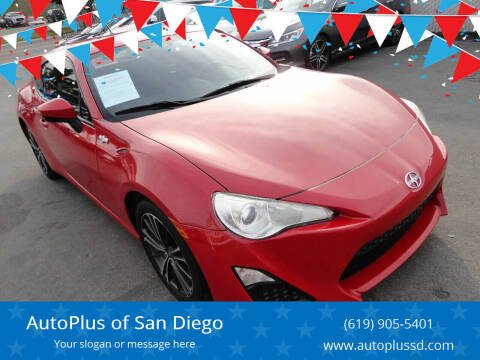 2013 Scion FR-S for sale at AutoPlus of San Diego in Spring Valley CA