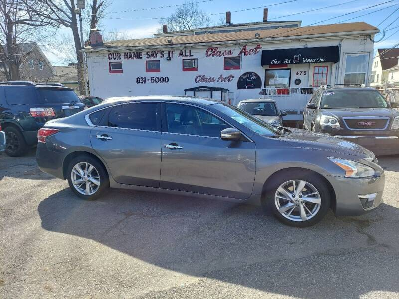 2014 Nissan Altima for sale at Class Act Motors Inc in Providence RI
