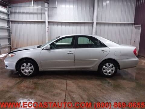 2002 Toyota Camry for sale at East Coast Auto Source Inc. in Bedford VA