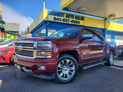 2014 Chevrolet Silverado 1500 for sale at Earnest Auto Sales in Roseburg OR