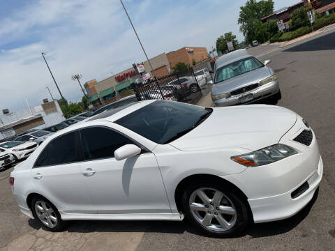 2008 Toyota Camry for sale at Sanaa Auto Sales LLC in Denver CO