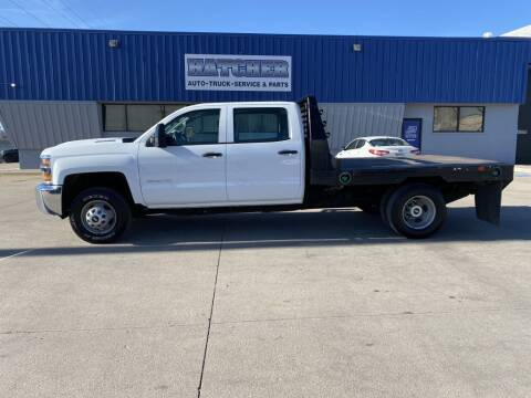 2018 Chevrolet Silverado 3500HD CC for sale at HATCHER MOBILE SERVICES & SALES in Omaha NE