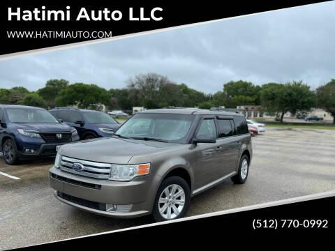 2012 Ford Flex for sale at Hatimi Auto LLC in Buda TX