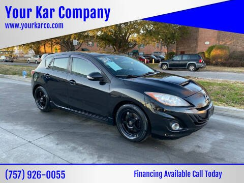 2010 Mazda MAZDASPEED3 for sale at Your Kar Company in Norfolk VA