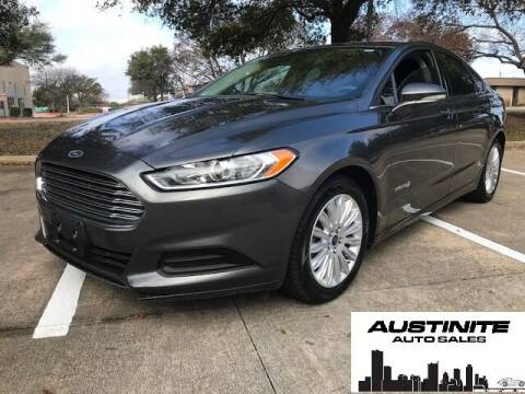 2015 Ford Fusion Hybrid for sale at Austinite Auto Sales in Austin TX