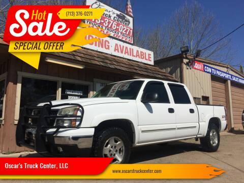 2006 Chevrolet Silverado 1500 for sale at Oscar's Truck Center, LLC in Houston TX
