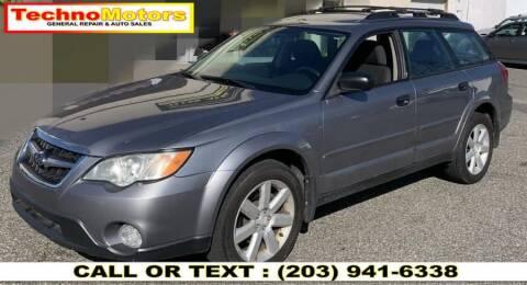 2009 Subaru Outback for sale at Techno Motors in Danbury CT